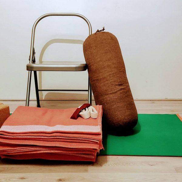 La matériel pour pratiquer le Restorative Yoga à la maison